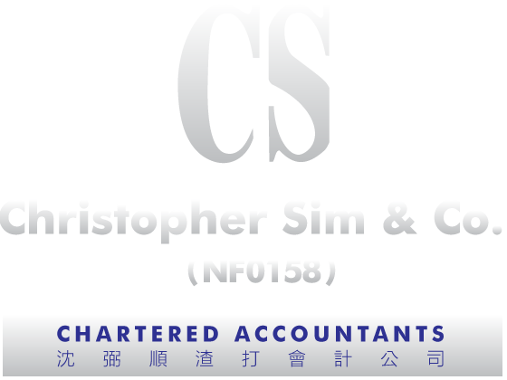Christopher Sim & Co. (NF 0158) Chartered Accountants